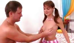 You will be really glad when you see this kinky man touching a boobs of his gf