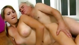 This kinky old teacher is horrible fucking a perfect slim majesty