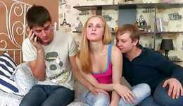 Natural blonde valentine is examined by a doctor and that the miss is getting screwed rough
