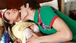 Brown-haired amazing whore loves the way this horrible guy treating her personage